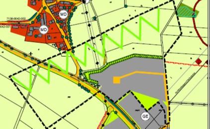 Bekanntmachung Bauleitplanverfahren – Beteiligung der Öffentlichkeit im Rahmen der Fortschreibung des Flächennutzungsplans mit integriertem Landschaftsplan durch Deckblatt 1 in folgenden Teilbereichen: