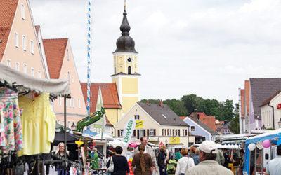 Bummeln – Einkaufen – Genießen beim Auffahrtsmarkt am 30. Mai!