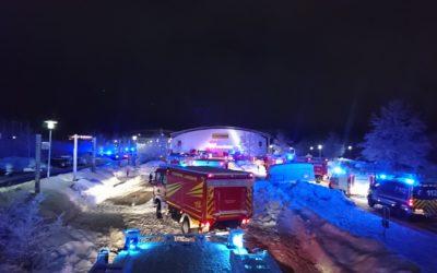 Die Feuerwehr Langquaid war mit dem Hilfeleistungskontingent in Bad Tölz im Einsatz