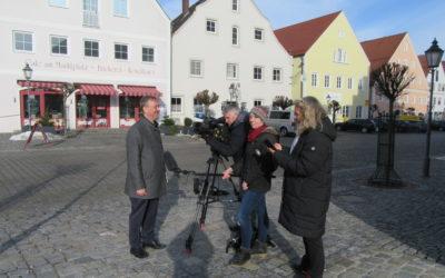 Vorbild in Sachen Innenentwicklung: Das Bayerische Fernsehen hat den erfolgreichen Langquaider Weg vorgestellt