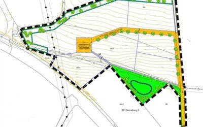 """Beteiligung der Öffentlichkeit im Rahmen der Aufstellung des Bebauungsplans mit integrierter Grünordnungsplanung """"Öko-Plus Gewerbegebiet Ziegelberg"""""""