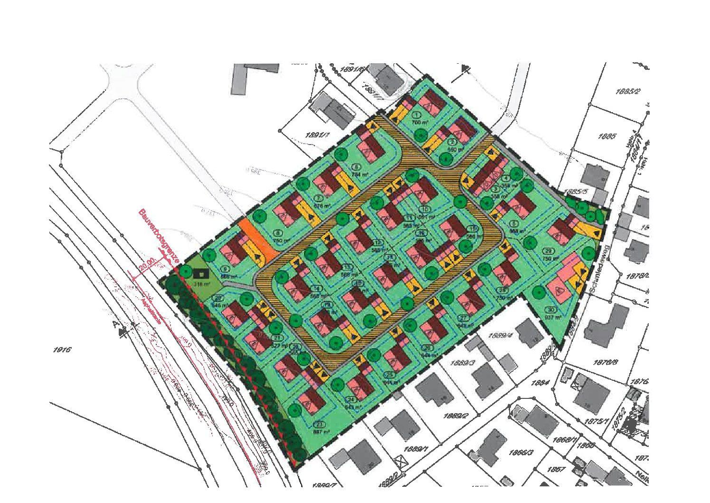 """Vollzug des Baugesetzbuches (BauGB); Aufstellung eines Bebauungsplanes mit integriertem Grünordnungsplan mit der Bezeichnung """"Sinsbuch"""" in Langquaid"""