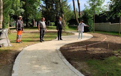 Der Waldfriedhof bekommt einen Garten der Erinnerung