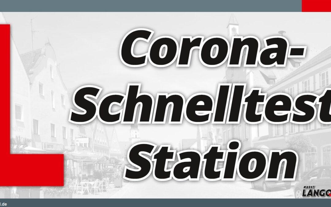 Teststationen bieten die Möglichkeit von kostenlosen Corona-Schnelltests