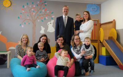 Eltern-Kind-Gruppen-Räume ganz neu gestaltet