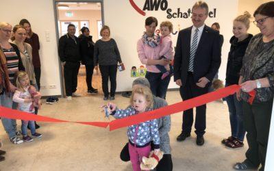 Die neue Kindertagesstätte im Familien- und Bildungszentrum schafft weitere Betreuungsmöglichkeiten