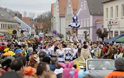 Faschingsumzug begeisterte tausende Besucher