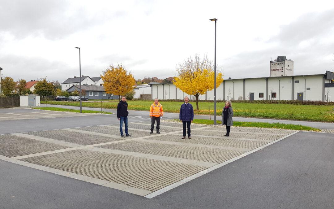 Weitere zentrumsnahe Parkplätze wurden fertiggestellt