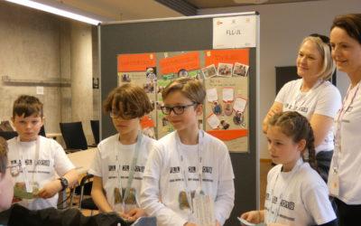Lego- Mond-Forscher begeistern Jury und Zuschauer an der OTH Regensburg