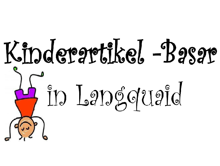 Kinderartikelbasar in Langquaid