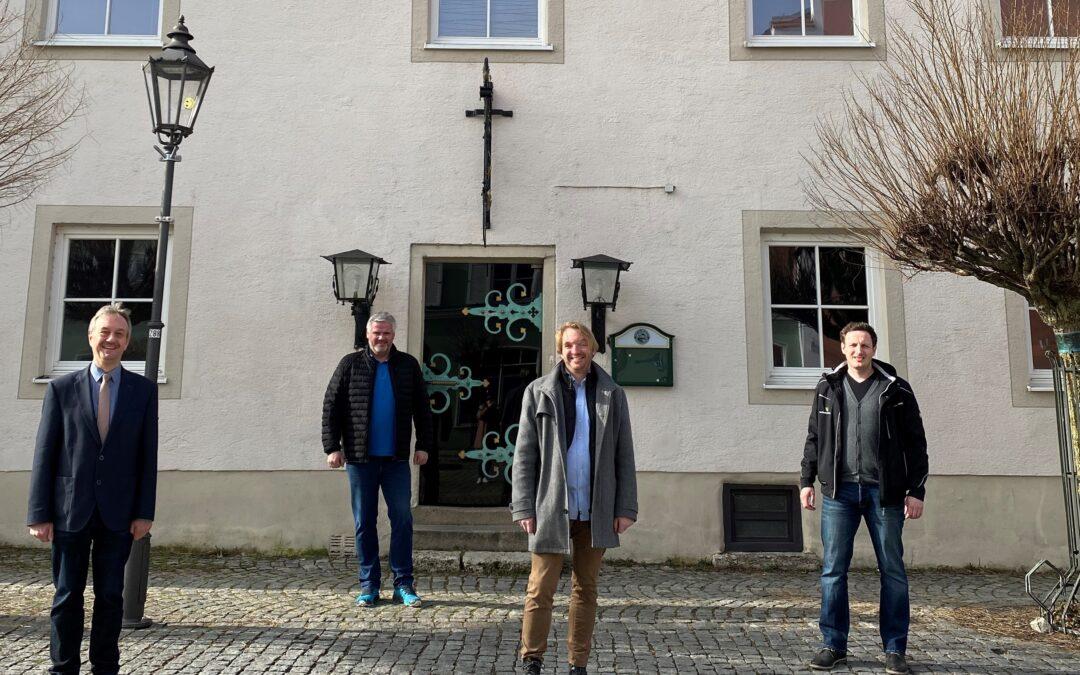 """Gastro- und Wohnzentrum """"Nagelhof"""" wird den Marktplatz weiter stärken"""