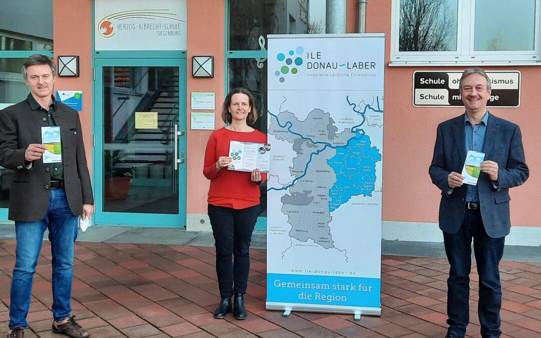 Erster Flyer zur Arbeit der ILE Donau-Laber erschienen