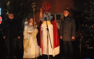 Nikolausmarkt bezauberte Jung wie Alt