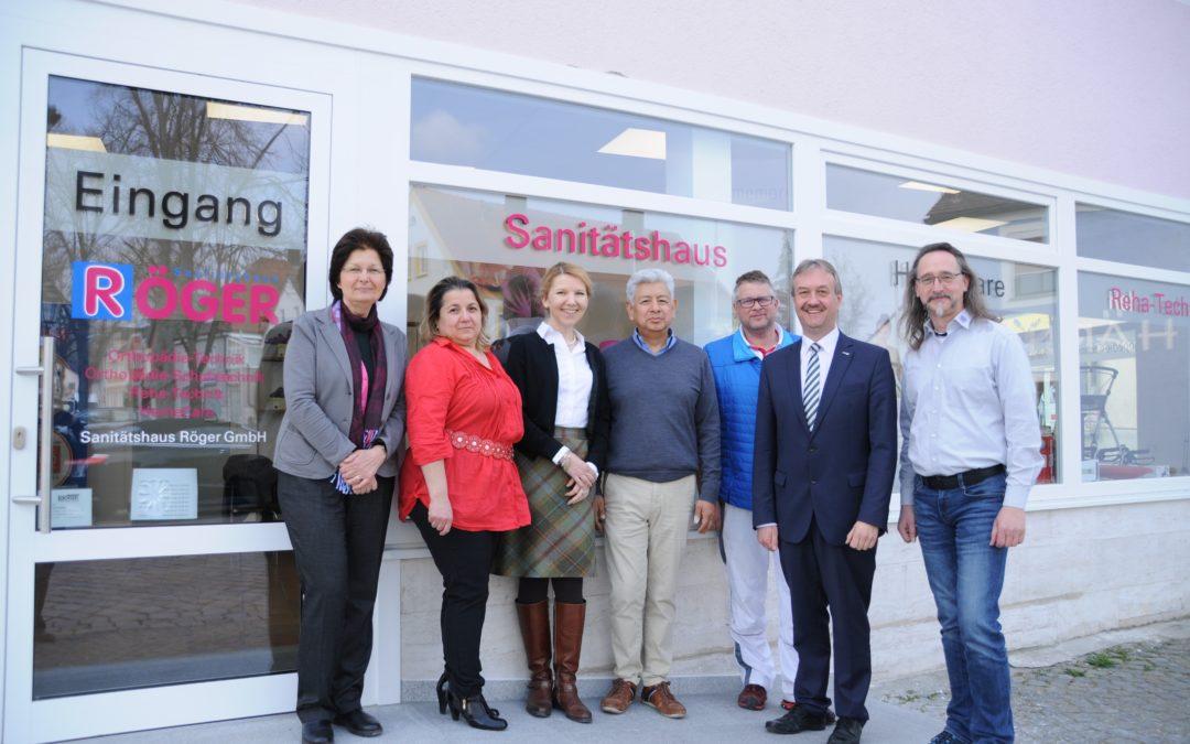 Neu in Langquaid: Sanitätshaus Röger