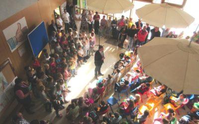 302 Schüler an der Grund- und Mittelschule sind ins neue Schuljahr gestartet