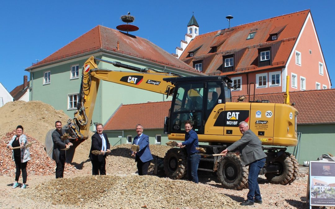 Spatenstich für 31 neue Wohnungen am Wittelsbacher Markt