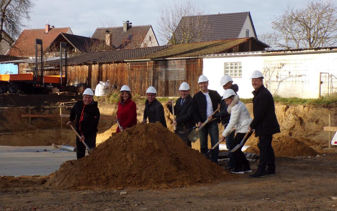 """Spatenstich für ein neues """"städtebauliches Quartier"""""""