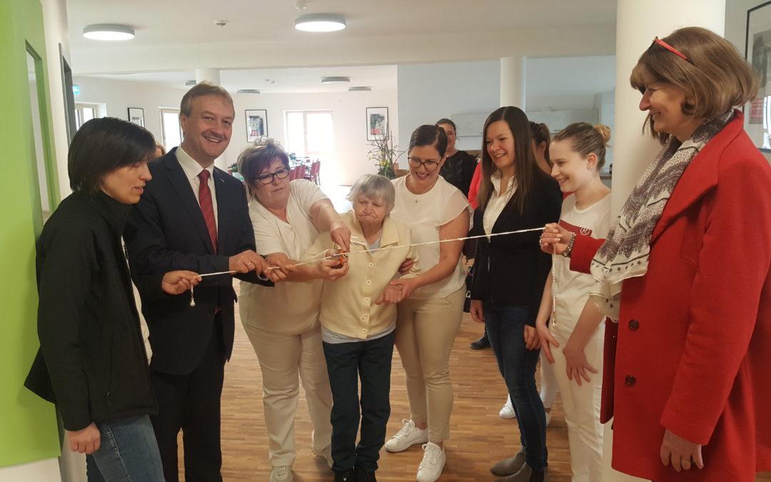 Die AWO-Tagespflege hat als erste Einrichtung im neuen Familien- und Bildungszentrum eröffnet