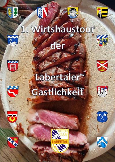 """""""1. Wirtshaustour der Labertaler Gastlichkeit"""" des MC Labertal"""