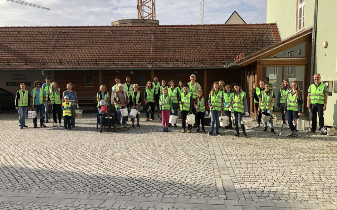 Erfolgreicher World Cleanup Day in Langquaid