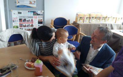 Kennenlernen, Austausch und viele Informationen beim Babyempfang