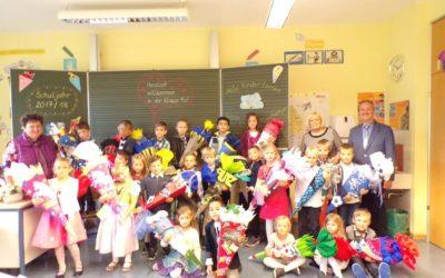 310 Schüler an der Grund- und Mittelschule sind ins neue Schuljahr gestartet